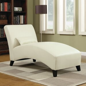 Brennan Leather Chaise Lounge : futon chaise lounger - Sectionals, Sofas & Couches