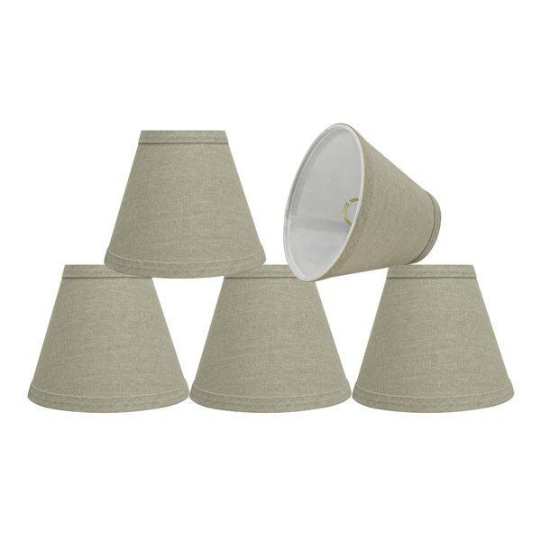 6'' Fabric Empire Lamp Shade (Set of 5) by Rosecliff Heights