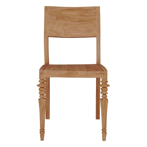 Noblitt Solid Wood Side Chair in Brown (Set of 2) by Gracie Oaks Gracie Oaks