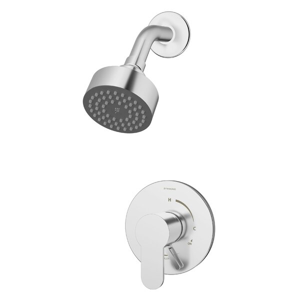 Identity Shower Faucet Trim Kit with Metal Lever Handle by Symmons Symmons