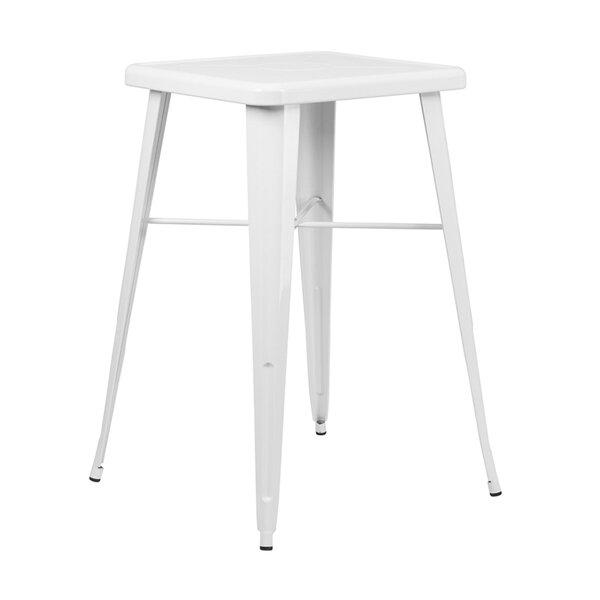 Haninerm Metal Bar Table by Ebern Designs