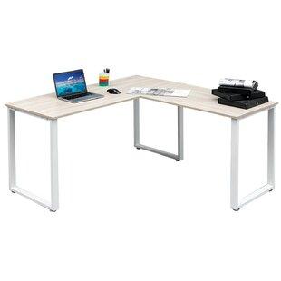 Reviews L-Shape Computer Desk By Merax