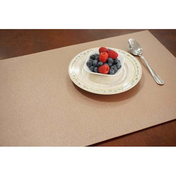 Pebble 18 Placemat (Set of 8) by Dainty Home