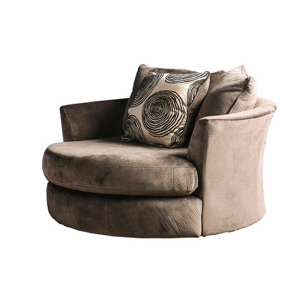 Lavelle Swivel Armchair by Latitude Run