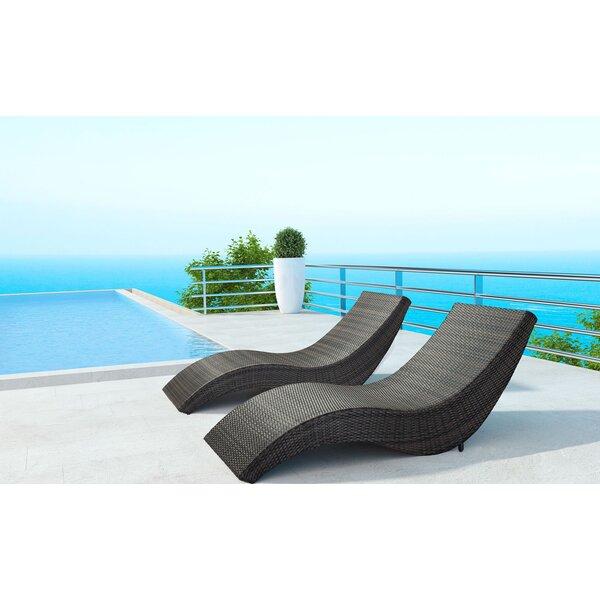 Wilberforce Beach Patio Chair by Orren Ellis