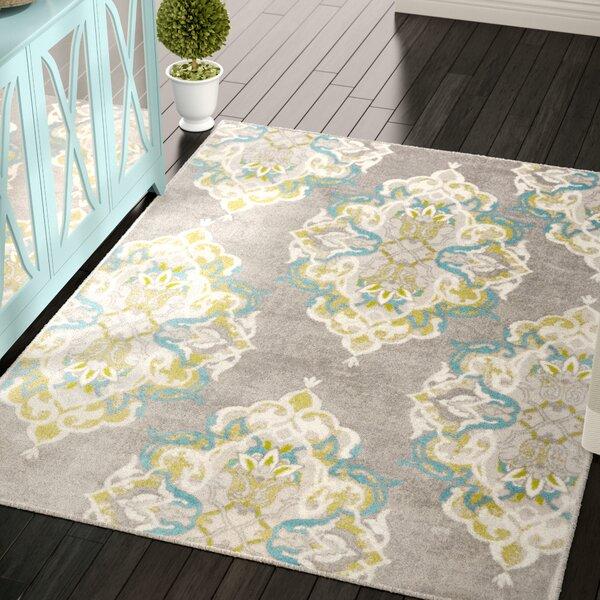 Kallie Gray Area Rug by Ophelia & Co.