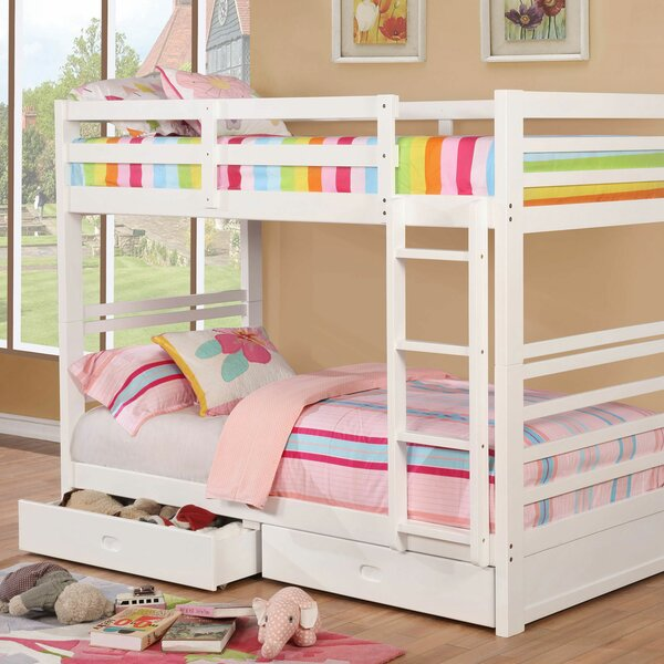 Foerer Twin over Twin Bunk Bed with Drawers by Harriet Bee Harriet Bee