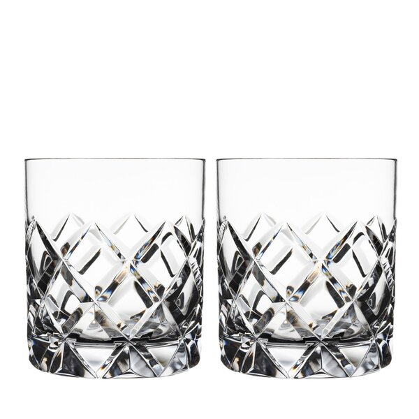 Sofiero Old Fashioned 8 oz. Cocktail Glass (Set of 2) by Orrefors
