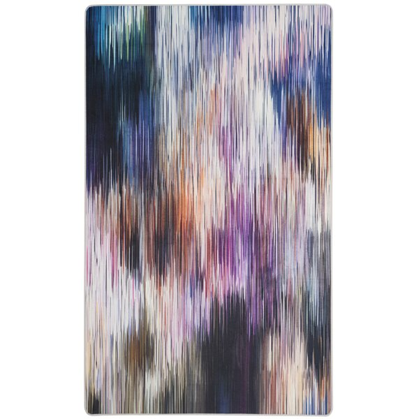 Ellesmere Purple Area Rug by Ebern Designs