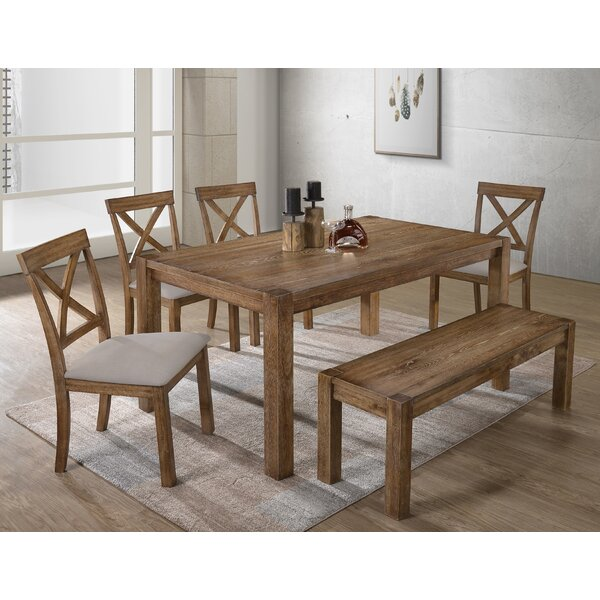 Izaak 6 Pieces Dining Set by Charlton Home Charlton Home