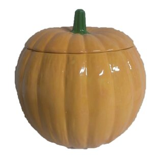 Bargain Pumpkin Candy Storage Jar ByThe Holiday Aisle