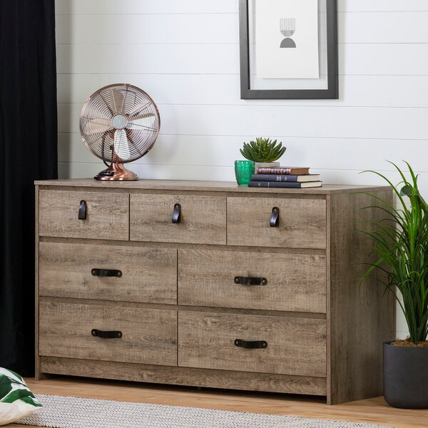 7 Drawer Dresser by Millwood Pines