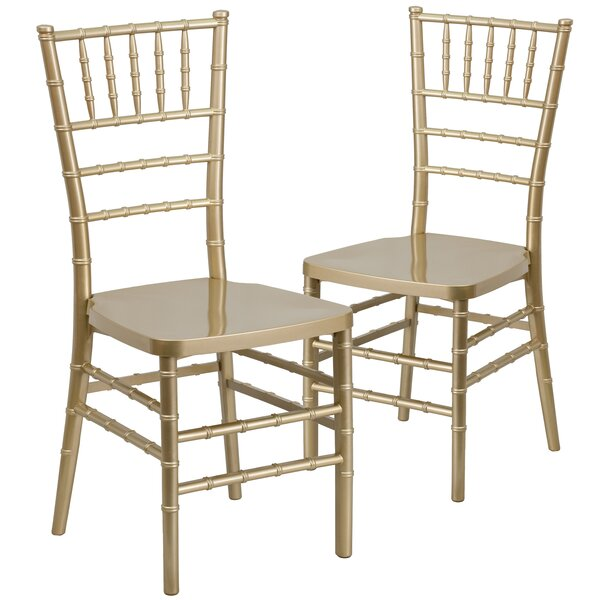 Gamble Chiavari Chair (Set of 2) by Everly Quinn