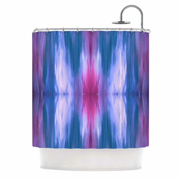 Ebi Emporium Butterfly Tribal 4 Shower Curtain by East Urban Home