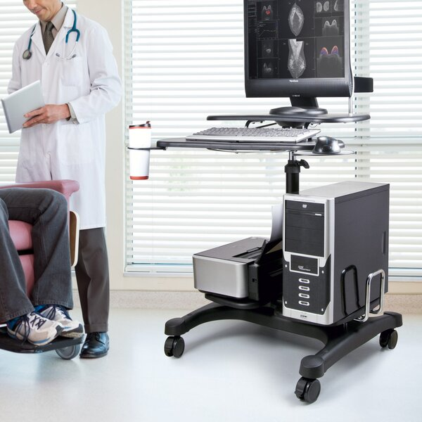 Heavy Duty Mobile AV Cart by Aidata U.S.A