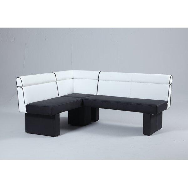 Rupali Upholstered Corner Bench by Orren Ellis