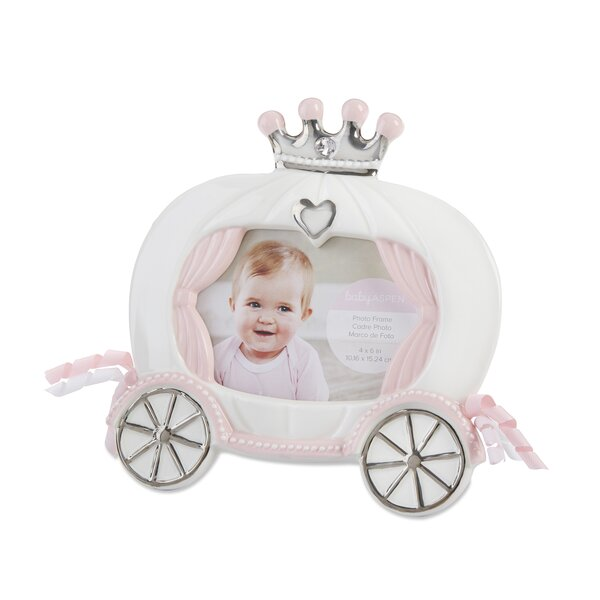 Erdenheim Little Princess Ceramic Carriage Picture Frame by Harriet Bee