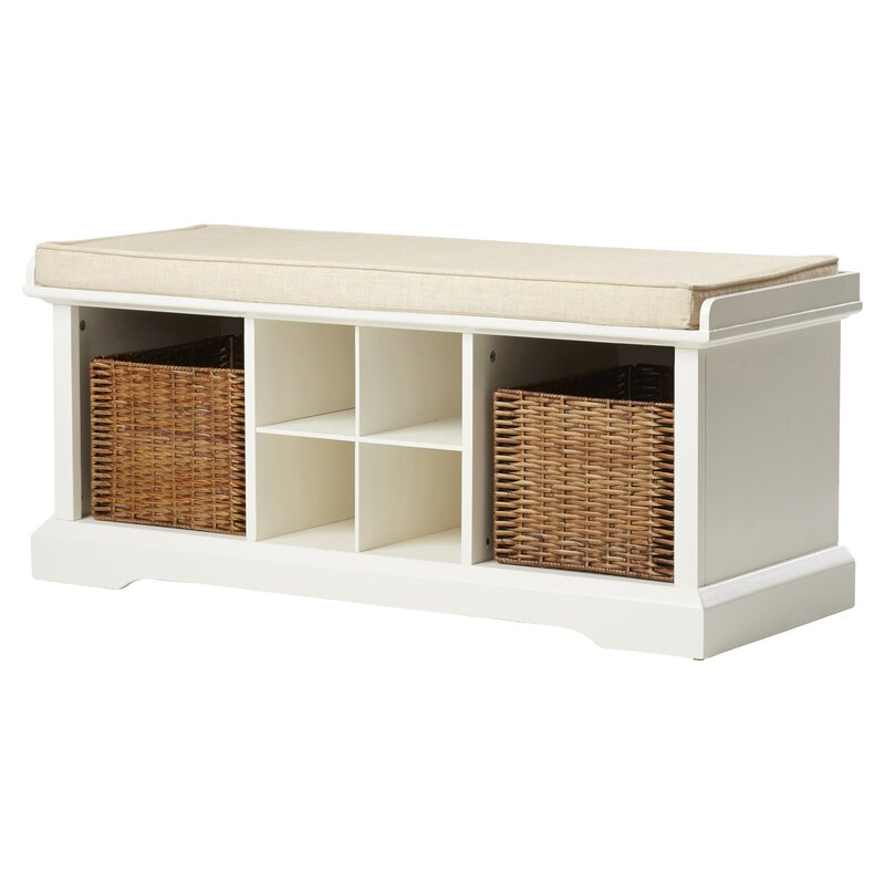 Breakwater Bay Selbyville Storage Entryway Bench & Reviews