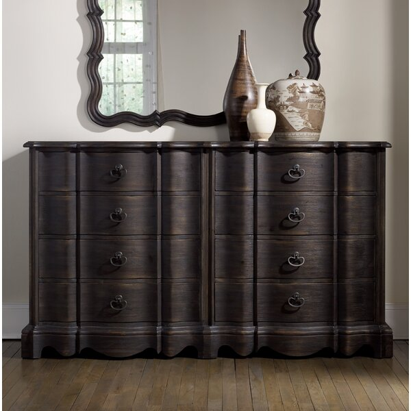Corsica Camden 8 Drawer Double Dresser by Hooker Furniture