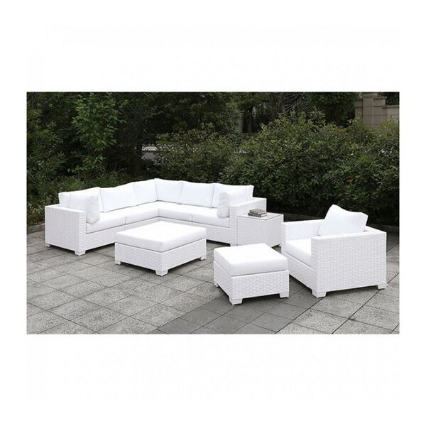 Bismark 5 Piece Sectional Seating Group with Cushions by Brayden Studio