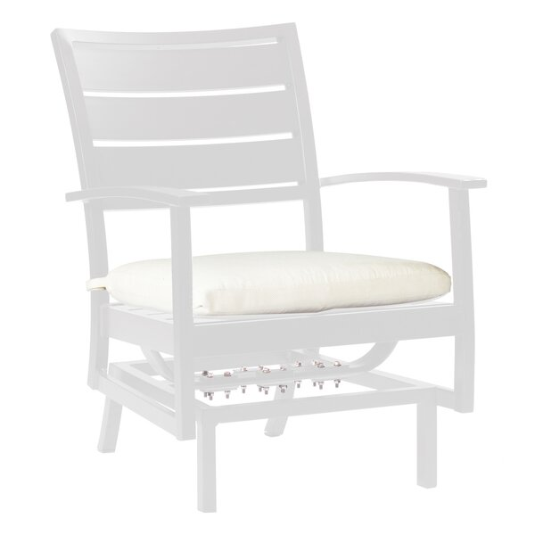 Charleston Euro Spring Patio Chair with Cushion by Summer Classics