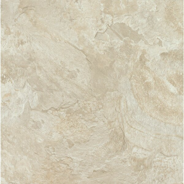 Alterna Mesa Stone 12 x 24 x 4.06mm Luxury Vinyl Tile in Chalk by Armstrong Flooring