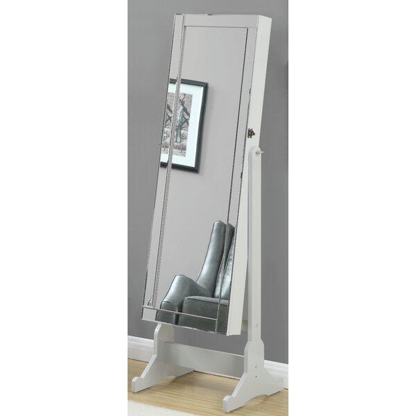 Jewelry Floor Cheval Mirror by Darby Home Co