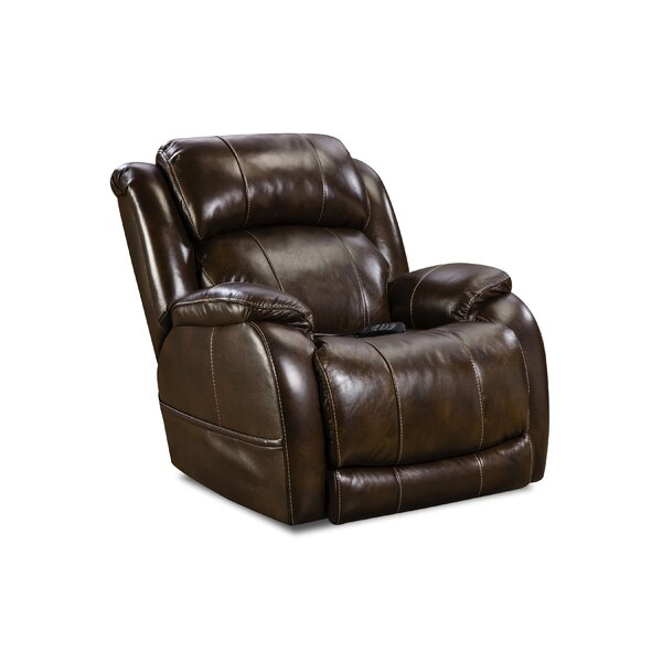 Fennville Triple Leather Power Recliner by Red Barrel Studio Red Barrel Studio