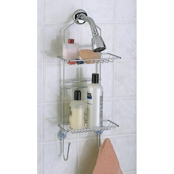 Chrome Adjustable Shower Caddy by Wildon Home ®