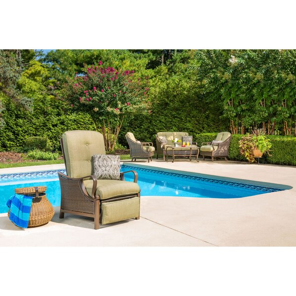 Mintz Luxury Patio Chair with Cushions by Latitude Run