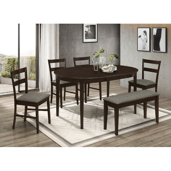 Mcgann 6 Piece Drop Leaf Dining Set By Winston Porter