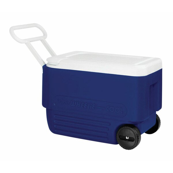 38 Qt. Wheelie Rolling Cooler by Igloo