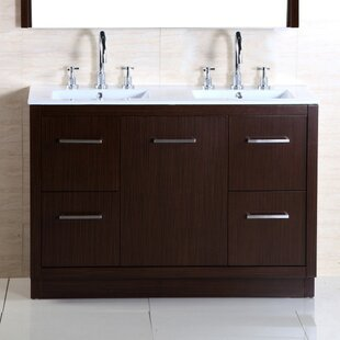 Find the perfect 48 Double Sink Vanity Set ByBellaterra Home