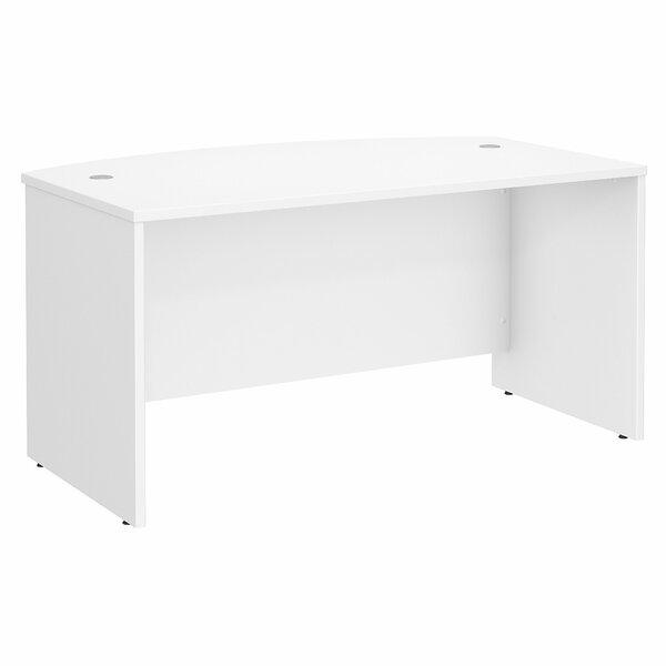 Studio C Bow 4 Piece Desk Office Suite by Bush Business Furniture