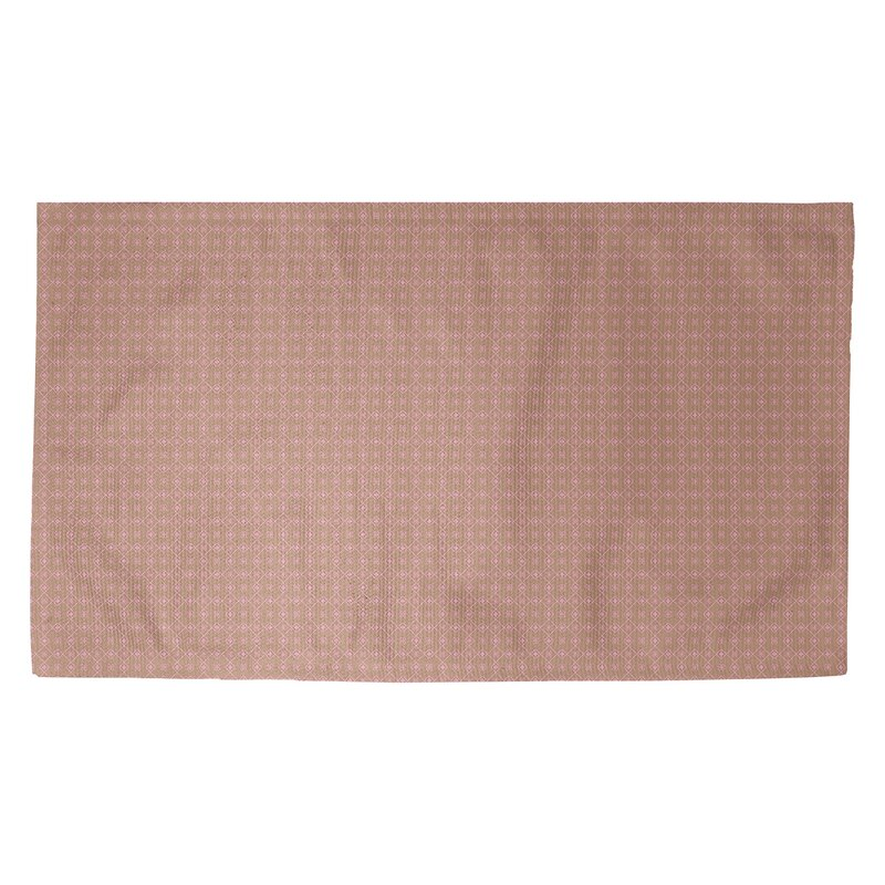 Latitude Run Avicia Doily Brown Pink Area Rug Wayfair