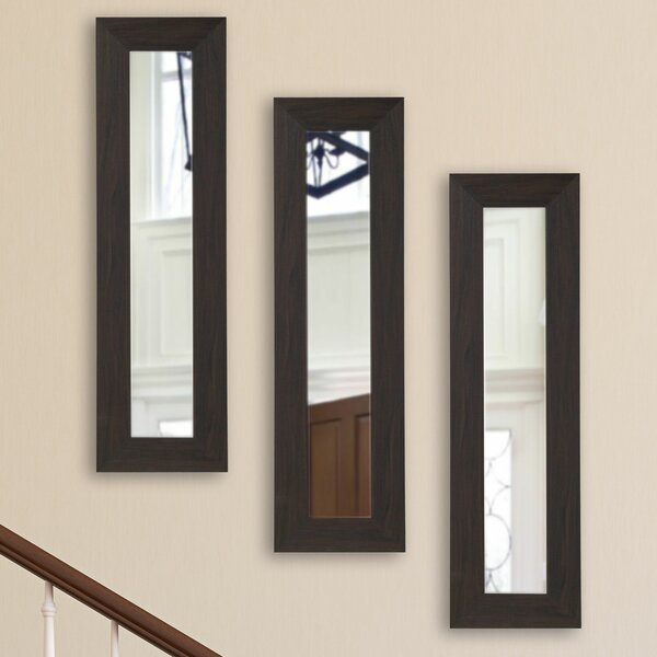 Panel Accent Mirror (Set of 3) by Latitude Run