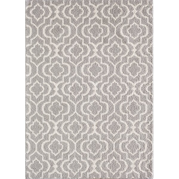 Myra Gray/White Area Rug by Zipcode Design