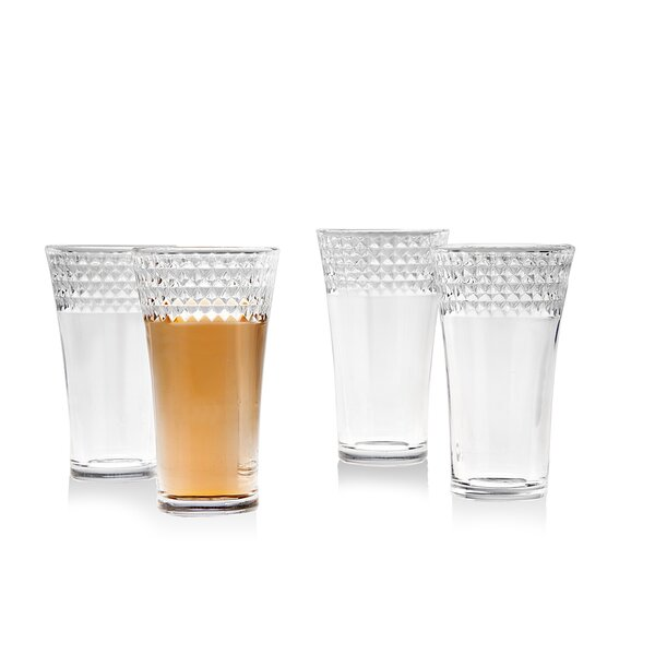 2 oz. Crystal Shot Glass (Set of 4) by Studio Silversmiths