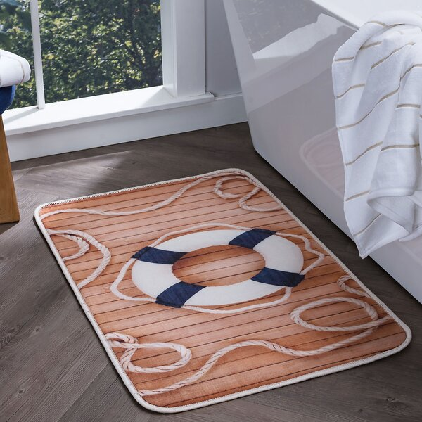 Finnigan Foam Core Comfort Bath Rug by Breakwater Bay