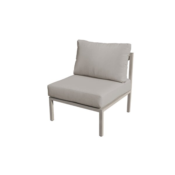 Carlisle Armless Armless Patio Sofa with Cushions by TK Classics