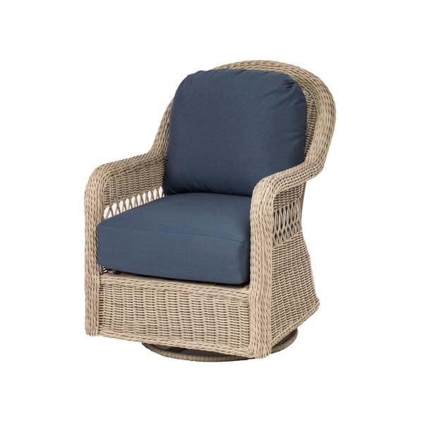 Washtenaw Patio Swivel Glider with Cushions by Darby Home Co Darby Home Co