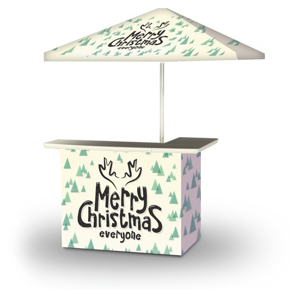 Alamance Merry Christmas Everyone 2-Piece Home Bar Set by East Urban Home