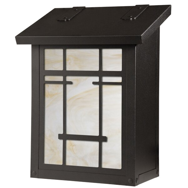 San Marino Wall Mounted Mailbox by America's Finest Lighting Company
