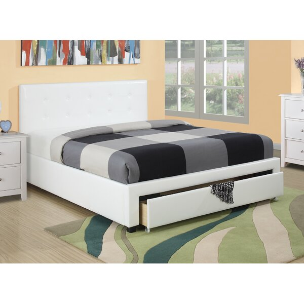 Valhalla Upholstered Storage Platform Bed by A&J Homes Studio