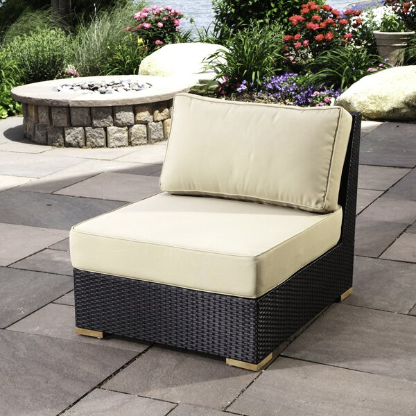 Salina Teak Patio Chair with Cushions by Madbury Road
