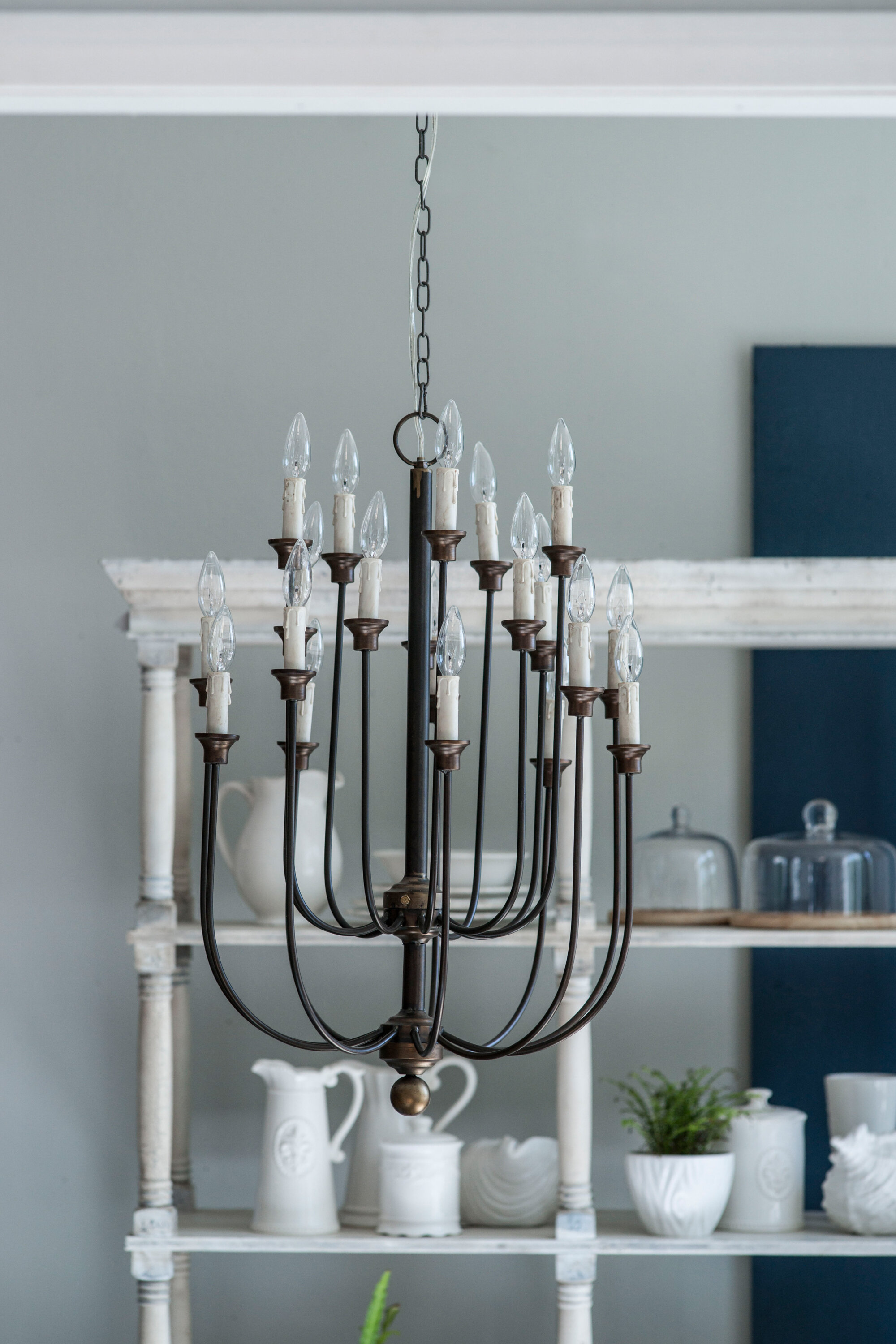 A&B Home 16 Light Candle Style Chandelier & Reviews