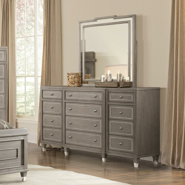 Frida 12 Drawer Dresser by Everly Quinn