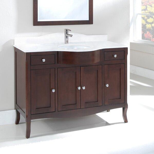 Dalian 48 Centerset Vanity Set by Harper Beach