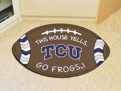 NCAA TCU Southern Football Doormat by FANMATS