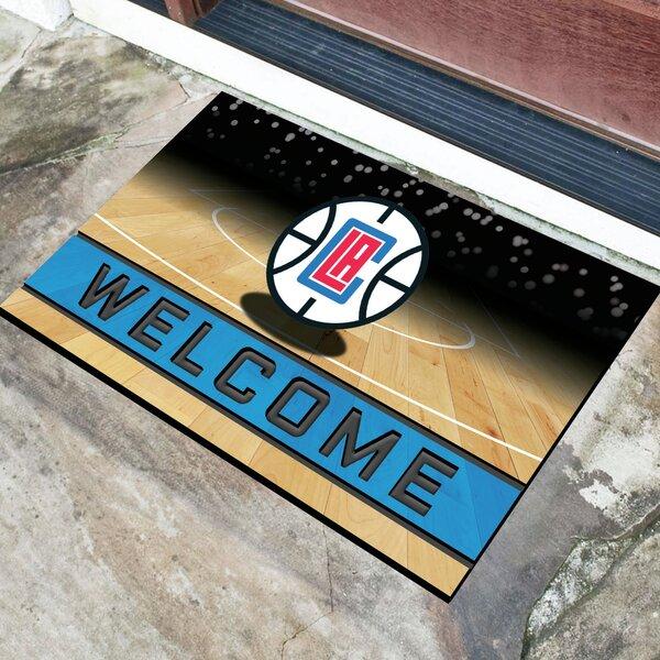 NBA Rubber Doormat by FANMATS